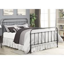 Decorative Metal Bed Frame Queen Coaster Furniture 300399q Livingston Queen Bed In Dark Bronze