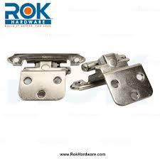 amerock satin nickel face mount self closing 3 8