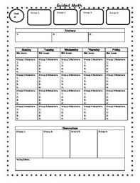 9 best images of mini math lesson plan template high math