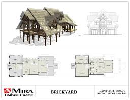 2 story timber frame house plans mira timber frame