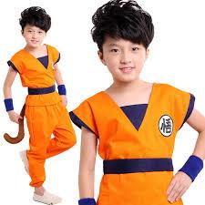 Dragon Halloween Costumes Kids Shop 2017 Japanese Anime Dragon Ball Goku Cosplay