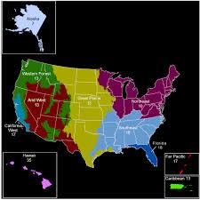 Florida Regions Map by Regions