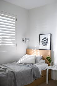 simple bedroom minimal style