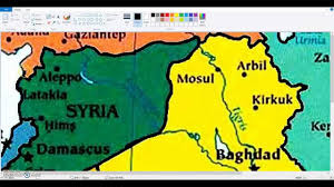 Map Of Syria Free Printable Maps by Blank Maps Iraq And Syria Youtube