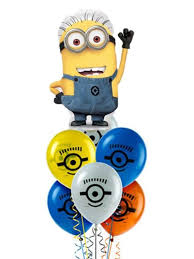 the hill balloon bouquet minions despicable me balloon bouquet gifts in the