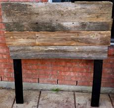 Barn Wood Headboard Old Barn Wood Headboard Loccie Better Homes Gardens Ideas