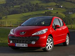 peugeot 207 red peugeot 207 serie 64 2008 picture 2 of 23