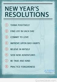 best resolutions messages for new year 2016