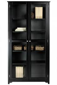 Bookcase With Door Oxford 72quoth Bookcase With Glass Doors Glass Door Bookcases