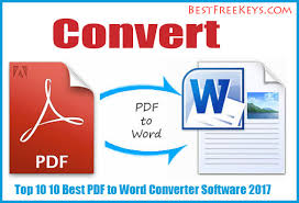 Convert Pdf To Word 10 Best Pdf To Word Converter Software 2017 Reviews