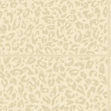 skin leopard leather panels wallpaper in cream soft gold by