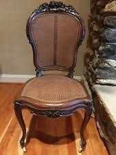 Antique Accent Chair Brown Provincial Accent Chairs Antique Furniture Ebay
