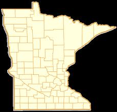 mn counties map minnesota county map