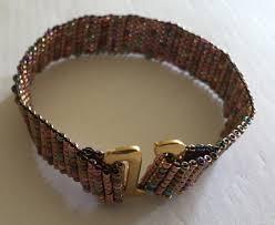 simple beaded bracelet images A simple beaded bracelet using the no warp ends kit mirrix jpg