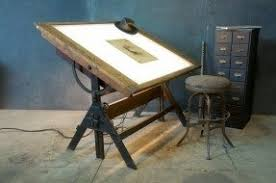 Old Drafting Table Modern Drafting Tables Foter