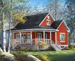 country cabin floor plans plan 80559pm country cottage cottage house wraparound and