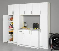 tall garage storage cabinets furniture white large garage cabinet with drawer placed on grey