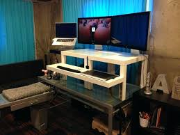 diy adjustable standing desk diy standing desk conversion medium size of stand plans pipe s