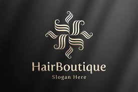 hairboutique luxury logo template logo templates creative market