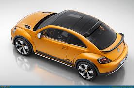 volkswagen beetle concept ausmotive com detroit 2014 volkswagen beetle dune concept