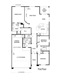 pulte home emerald model 1776 sq ft floor plans regular