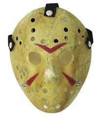 hockey mask jason friday the thirteenth scary