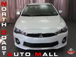 white mitsubishi lancer 2017 2017 used mitsubishi lancer es 2 0 fwd cvt at north coast auto