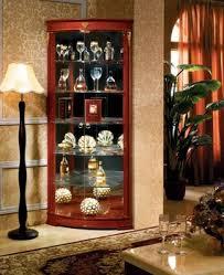 Tall Corner Display Cabinet Foshan Vertical Storage Furniture Antique Tall Corner Bar Cabinet