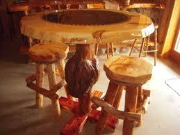 marvelous log bar stools hd decoreven
