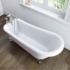 winchester roll top bath with bath shower mixer and standpipes winchester slipper bath large with ball feet