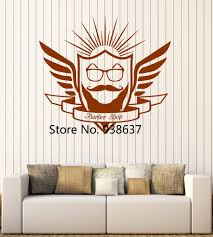 popular wall stickers barbershop buy cheap wall stickers beauty salon creative decoration fashion barbershop wall sticker wall window mirror decor self adhesive vinyl wall