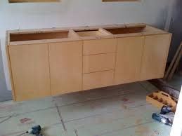 Bathroom Vanity Building Plans Hanging A Floating Vanity Finish Carpentry Contractor Talk