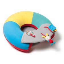 siege gonflable cocoon cale bébé à activités sensibul création oxybul pour enfant de 3