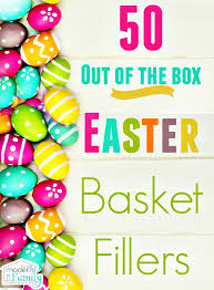 unique easter basket stuffers that your kids will
