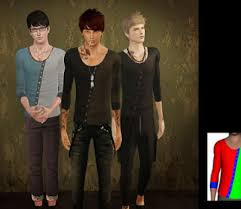 sims 3 men custom content 3 male clothes custom content downloads
