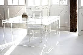 Clear Desk Organizer Clear Plastic Desk Bethebridge Co