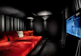 Sofa Movie Theater by Home Theater Room Sofa Cinema Fabric Striking As Addition To Large