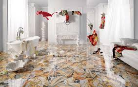 25 beautiful tile flooring ideas for living room kitchen and view in gallery floral motif printed tile peronda candela thumb 630xauto 56172 25 beautiful tile flooring ideas for living