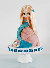 blythe doll mermaid cake