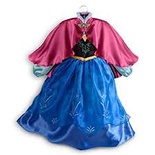 Frozen Costume Amazon Com Disney Store Frozen Princess Anna Costume Size Small 5