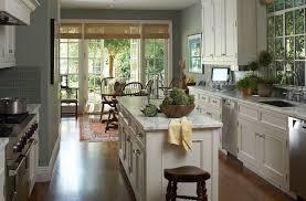 Soft White Kitchen Cabinets Kitchen French Doors Transitional Kitchen