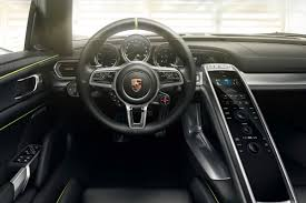 porsche spyder 2014 porsche 918 spyder revealed in production trim photos u0026 videos