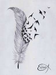 best 25 feather bird tattoos ideas on pinterest little