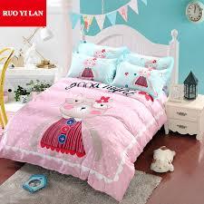 Queen Duvet Cover Sets Aliexpress Com Buy Good Night Kitty 100 Cotton Bedding Duvet