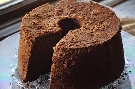 chocolate chiffon cake cook diary