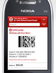 mobile gift cards gigaom george costanza needs target s new mobile giftcards