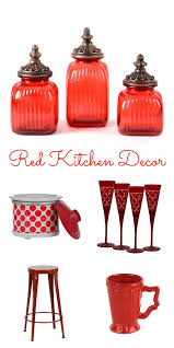 Red Kitchen Set - red kitchen decor kitchen and decor