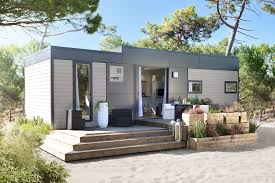 mobile home 3 chambres cing landes mobil home taos 6 places 40 m 3 chambres