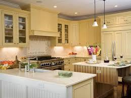 Yellow Kitchen Cabinet Magnificent Kitchen On Pale Yellow Kitchen Cabinets Barrowdems