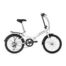 si es pliants vélo pliant 20 foldtech blanc 6 vitesses ks cycling achat prix